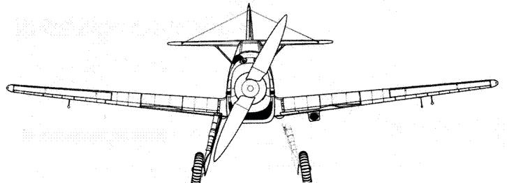 Bf.109В-2(первывх серий)