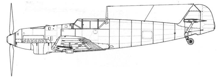 Bf.109D-1 (первых серий)