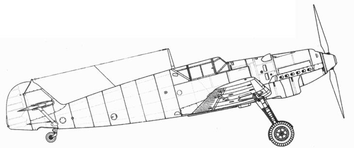 Bf.109 D-1 (поздних серий)