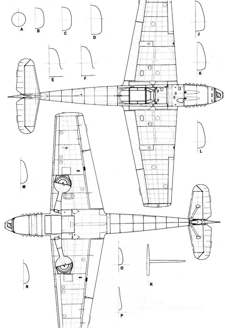 Bf.109C Bf.109 D-1 (поздних серий)