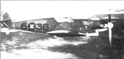 Самолет штаффелькапитана Хардера.