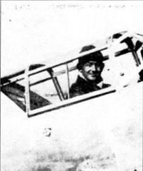 Летчик Сейлер, имевший девять побед в кабине своего Bf.109В-1 (борт 6-32).