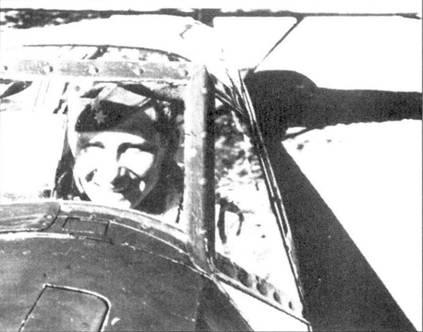 Экхарт Прибе в кабине Bf.109В-2 (борт 6-33).