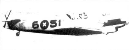 Самолет штаффелькапитана Сшельманна в полете.