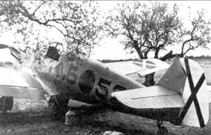 Bf.109 на аэродроме.