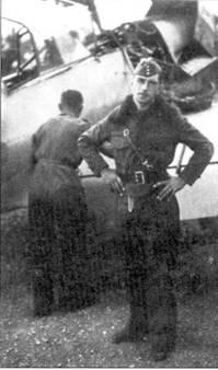 Вернер Мельдерс у Bf.109D.