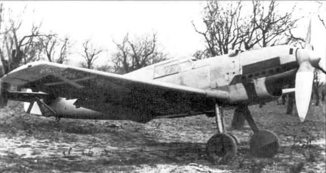 Bf.109В- 1, захваченный республиканцами.
