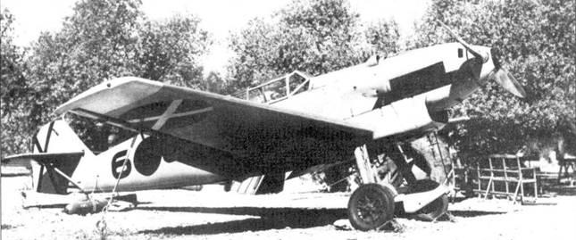 Bf.109В-2 на стоянке.