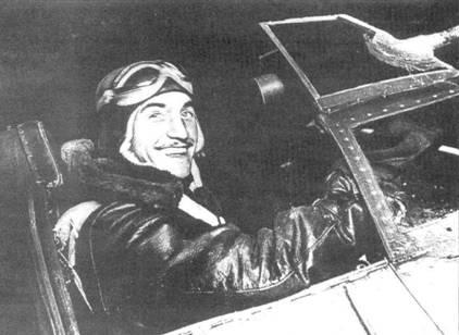 Командир эскадрильи ночных истребителей Хосе Фалько.
