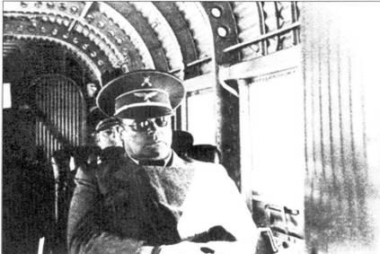 Командир легиона «Кондор» генерал-майор Сперле летит в Испанию.
