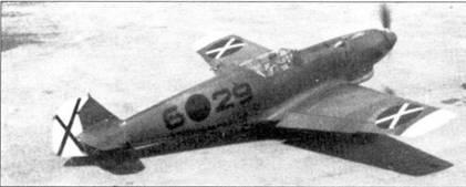 Камуфляжная окраска Bf.109R-2.