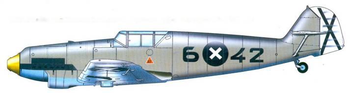 Bf.109В-2 лейтенанта Rescha из 2.J/88, с нестандартным камуфляжем на крыле. Лето 1938 года