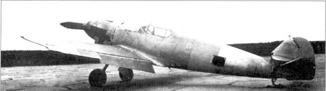 Bf.109-1 на аэродроме НИИ ВВС в СССР, весна 1938 года.