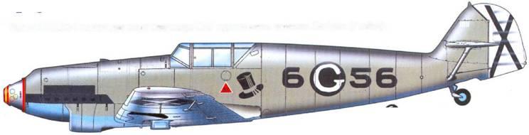Тот же Bf.109D-I на котором после командира 88-й группы летал гауптман Grabman (7 побед).