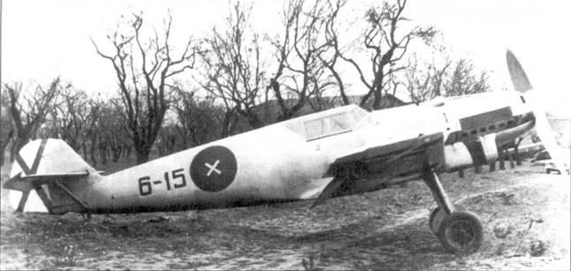 Bf.109В-1 легиона «Кондор».