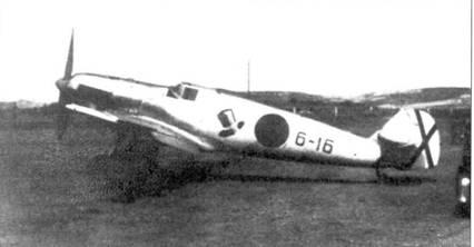 Один из последних Bf.109-1 из 2-й эскадрильи легиона «Кондор» отправленных в Испанию.