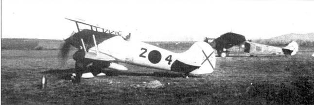 Истребитель-биплан Не-51, ни смену которому пришел Bf. 109.