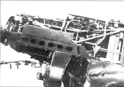 Силовая установка Bf.109B-2.