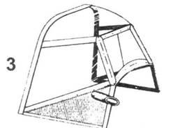 3.Козырек фонаря кабины Bf.109D