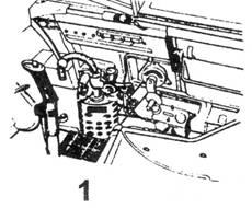 1.Правый борт кабины