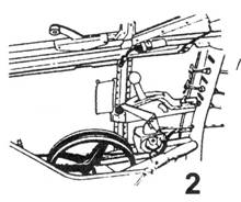2.Левый борт кабины