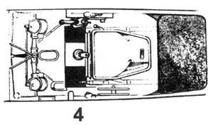 4.Кабина (вид сверху)