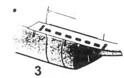 3.Укороченные выхлопные патрубки Bf.109 В,