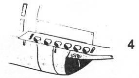 4.Удлинённые выхлопные патрубки Bf.109 С,