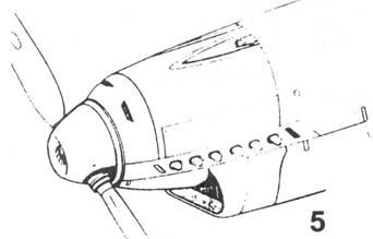 5.Капот Bf.109 D-1,