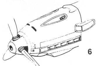 6.Капот Bf.109 Е-1,