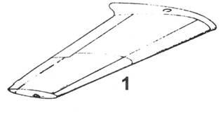 1.Крыло Bf.109 В-1 и Bf.109 В-2