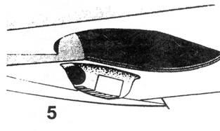 5 Установка маслохолодильника на всех модификациях Bf.109 (до Е)