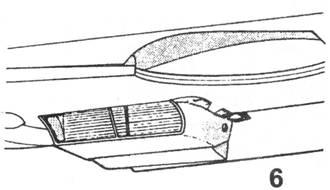 6.Крыльевой радиатор установленный на Bf.109 Е-1