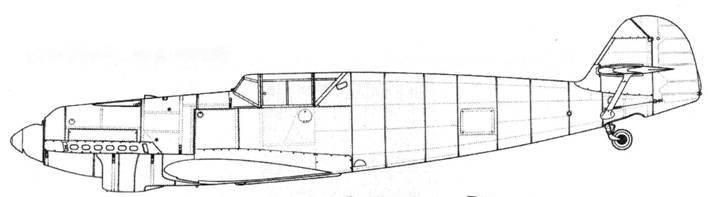 Bf.109B-1 (первых серий)