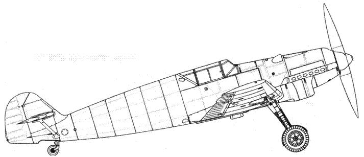 Bf.109В-1 (поздних серий)