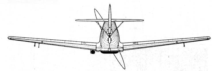 Bf.109B-1 (поздних серий)