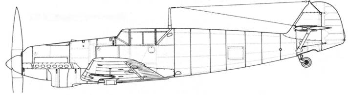 Bf.109B-2(первых серий)