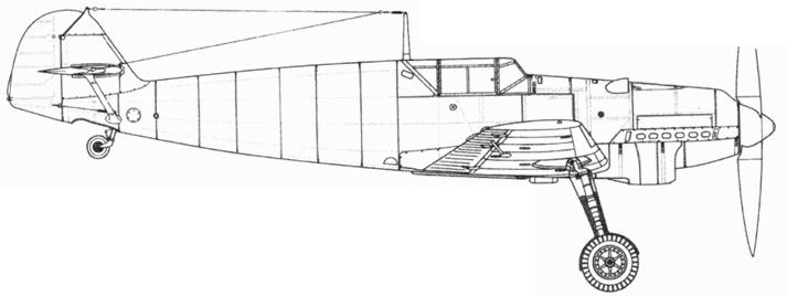 Bf.109B-2 (первых серий)