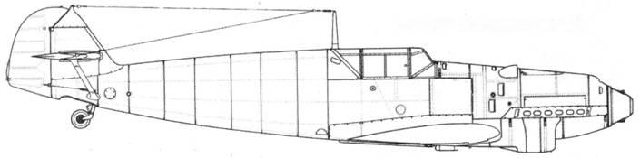 Bf.109B-2 (средних серий)