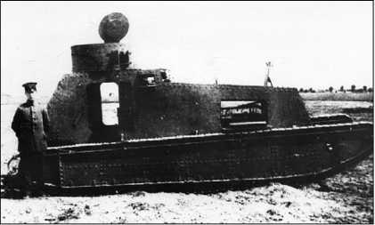 Легкий танк LK-I.
