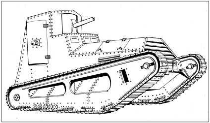 Легкий танк LK-II.