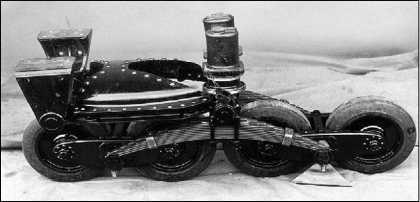 Тележка подвески «грострактора