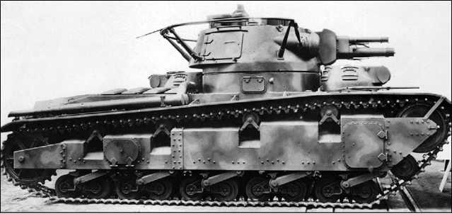 Средний танк Nb.Fz. №1 с башней фирмы Rheinmetall.