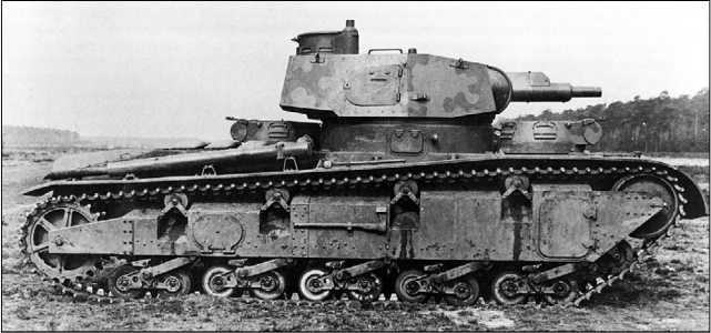 Средний танк Nb.Fz. №2 с башней фирмы Krupp.