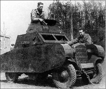 Макет танка в собранном виде.