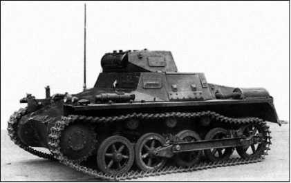 Один из 17 танков Pz.I Ausf.A, закупленных правительством Чан Кайши в 1936 году.