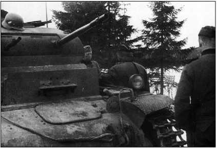 Танки Pz.II Ausf.B из состава 40-го батальона специального назначения. Норвегия, апрель 1940 года.