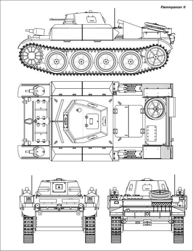 Машины специального назначения на базе Pz.II