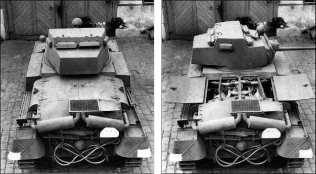 Разведывательный танк TNHnA во дворе фирмы ВММ. 1941 год.