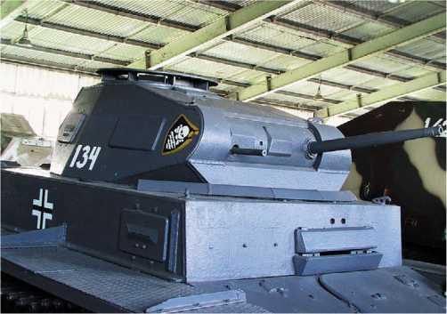 Panzer II Ausf.F в экспозиции Военно-исторического музея бронетанкового вооружения и техники в Кубинке.